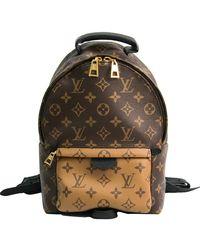 Louis Vuitton Monogram Reverse Palm Springs Backpack Pm M43116 Women'sbf502247 - Brown