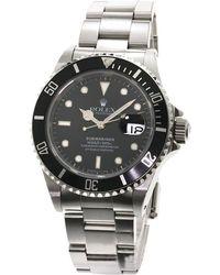 Rolex - Stainless Steel Submariner Men's Wristwatch 40mm - Lyst