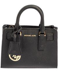 Michael Kors Black Leather Dillon Crossbody Bag