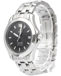 Omega - Stainless Steel Seamaster Men's Wristwatch 36mm - Lyst
