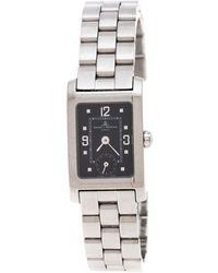 Baume & Mercier Black Stainless Steel Hampton Mv045139 Wristwatch 20 Mm - Metallic