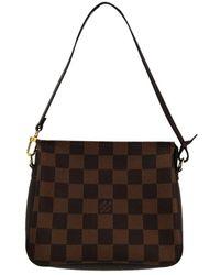e57af00f7 Louis Vuitton Damier Geant Loup Shoulder Bag Brown M93079 5497 in ...