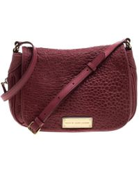7e2bde5150fc Marc By Marc Jacobs - Leather Washed Up The Nash Crossbody Bag - Lyst