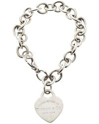 Tiffany & Co. - Return To Tiffany Heart Tag Bracelet - Lyst