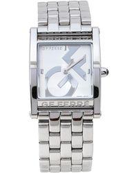 Gianfranco Ferré Gf Ferre Silver Stainless Steel Gf.9017l Wristwatch - Metallic