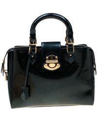newest 8f7fa 65d15 Dark Green Monogram Vernis Melrose Avenue Bag