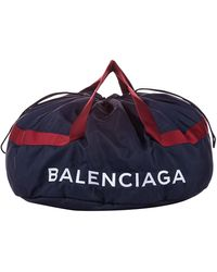 Balenciaga Blue Nylon - Black