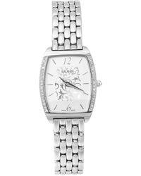 Balmain Silver Stainless Steel Diamond Arcade B1715.33.84 Women's Wristwatch - Metallic