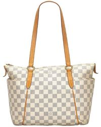 Louis Vuitton Damier Azur Canvas Totally Pm Bag - Multicolor