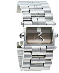 Gianfranco Ferré Gf Ferre Brown Stainless Steel Gf.9004l Quartz Wristwatch