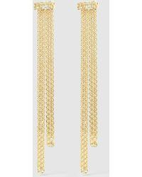Rosantica Gold-tone Chain Drop Earrings - Metallic