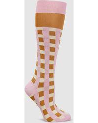 Marni - Woven Striped Socks - Lyst
