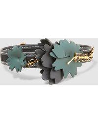 Marni - Embellished Flower Choker - Lyst