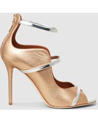 Malone Souliers - Mika Metallic Leather Sandals - Lyst