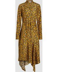 Christian Wijnants - Domi Printed Silk Midi Dress - Lyst