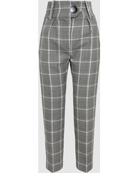Petar Petrov - Hayden Checked Wool Trousers - Lyst