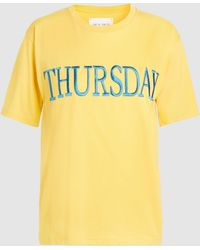 Alberta Ferretti - Thursday Cotton T-shirt - Lyst