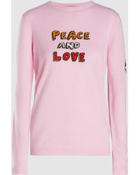 Bella Freud - Peace And Love Sweater - Lyst