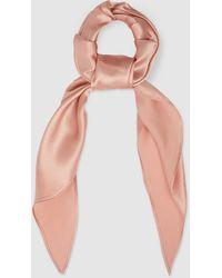 Le Kasha Tie Silk Scrunchie - Multicolour