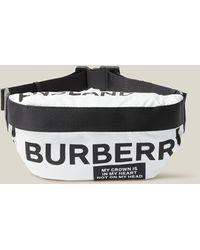 Burberry Sonny Medium Logo Belt Bag - Multicolour