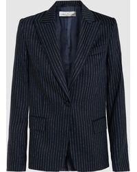 Golden Goose Deluxe Brand - Venice Wool And Silk-blend Blazer - Lyst