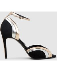 Pierre Hardy Rainbow High-heeled Sandals - Black