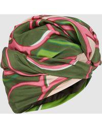 Marc Jacobs - Printed Silk Turban - Lyst