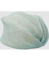 Missoni Open Knit Turban - Green