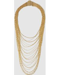 Rosantica - Iliade Gold-dipped Tiered Necklace - Lyst