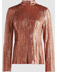 Madiyah Al Sharqi - Sequinned Top - Lyst