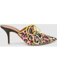 Malone Souliers - Lulu Leather Pointed Mules - Lyst