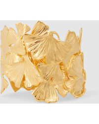 Aurelie Bidermann - Tangerine 18k Gold-plated Cuff - Lyst