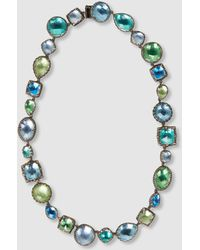 Larkspur & Hawk - Sadie White Quartz Mermaid Foil Necklace - Lyst