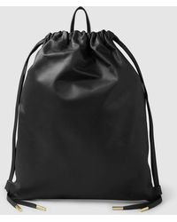 PB 0110 - Leather Drawstring Backpack - Lyst
