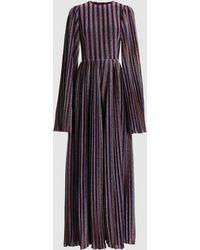SemSem - Khepri Shimmer Knit Jumpsuit - Lyst