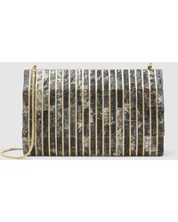 Nathalie Trad - Gustave Shell Clutch - Lyst