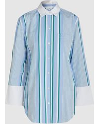 Equipment - Clarke Striped Cotton Shirt - Lyst