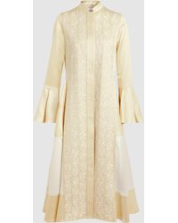 Zeus+Dione - Long Sleeve Embroidered Coat - Lyst