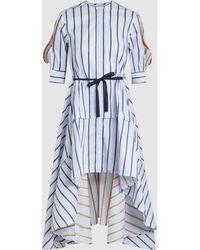 Palmer//Harding | Sequel Oversized Striped Cotton Shirt | Lyst