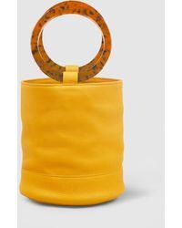 Simon Miller Medium Bonsai 20cm Leather Bag - Yellow