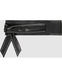 IRO - Curt Studded Leather Belt - Lyst
