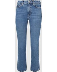 M.i.h Jeans Daily Cropped Straight-leg Jeans - Blue
