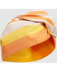 Taller Marmo - La Cabeza Striped Turban - Lyst