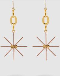 Erickson Beamon Starstruck Earrings - Metallic