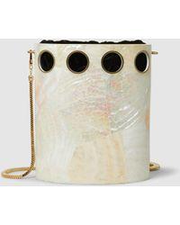 Nathalie Trad - Golding Cutout Shell Shoulder Bag - Lyst