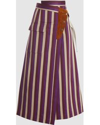 Golden Goose Deluxe Brand Linette Skirt - Purple