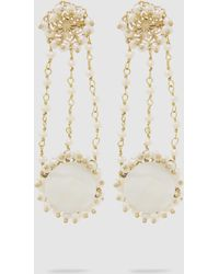 Rosantica - Corte Freshwater Pearl Gold-tone Earrings - Lyst