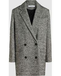 IRO - Animal Long Sleeve Cotton Blazer - Lyst