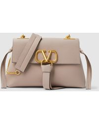 Valentino Garavani Leather Shoulder Bag - Multicolour