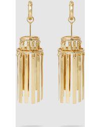 Ellery - Iowa Small Gold-tone Chandelier Earrings - Lyst